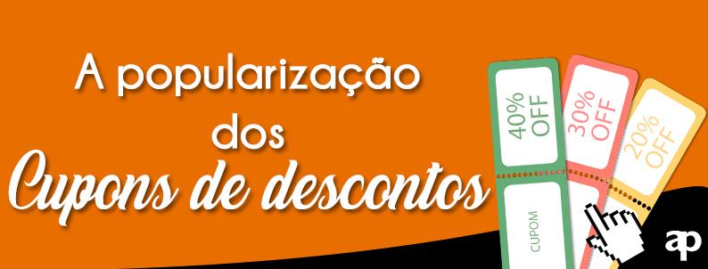 A popularização do uso de cupom de desconto online no Brasil